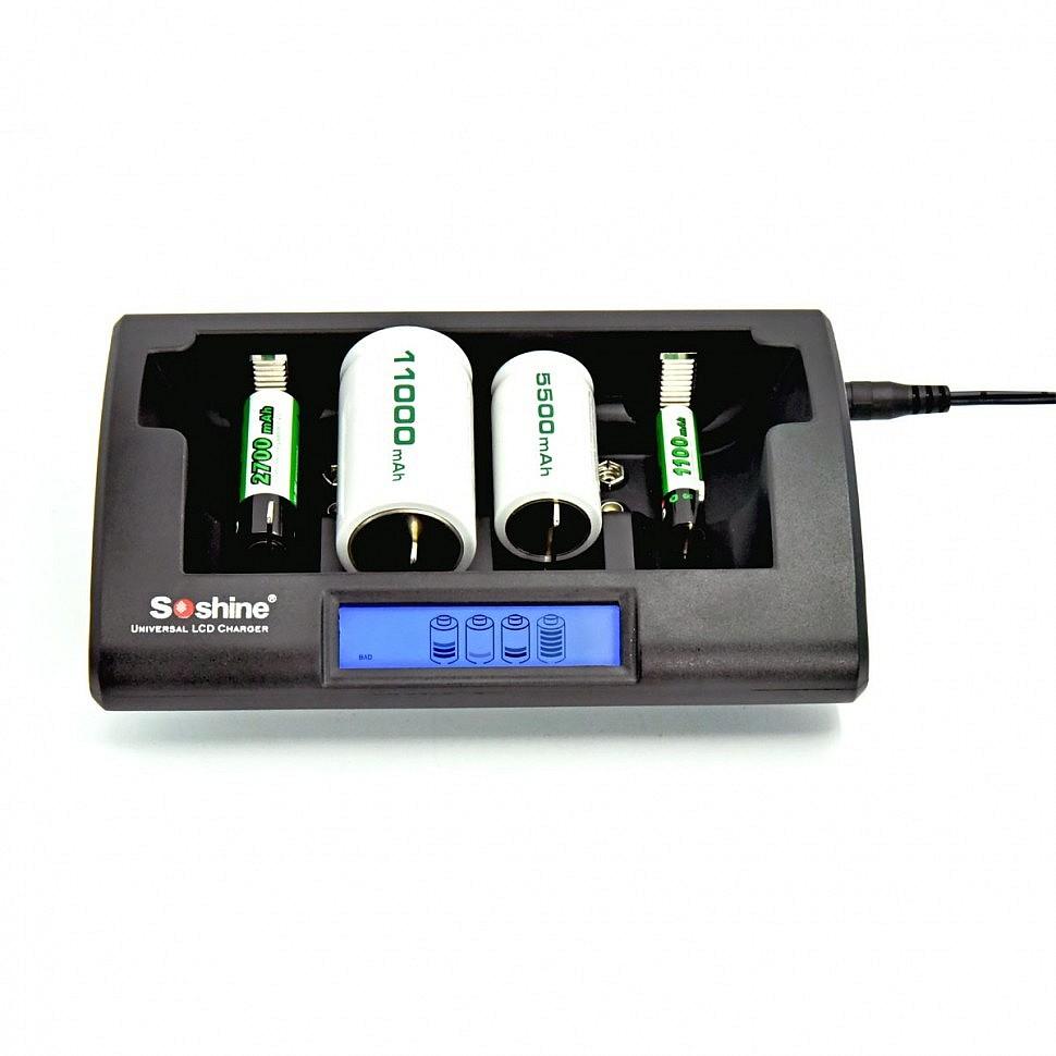 Зарядное устройство Soshine CD1 (4 слота)